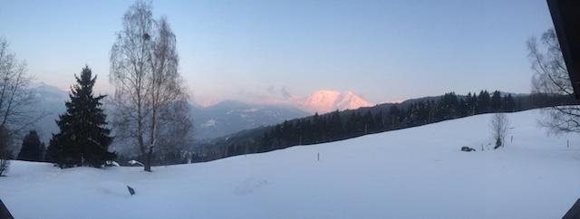 Mont Blanc, Megève