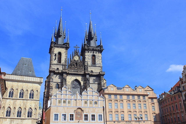 Church of Our Lady before Tyn, Old Town square, Prague