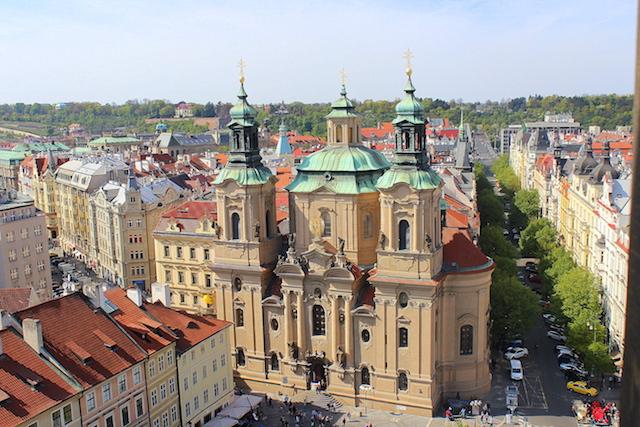 Prague Saint Nicholas church