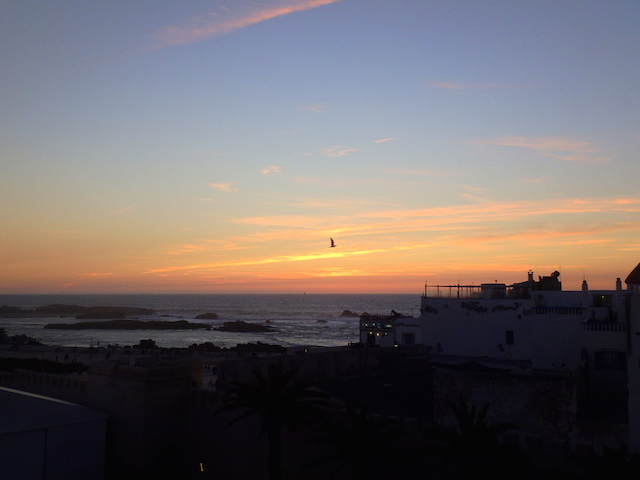 Sunset in Essaouira, Morocco