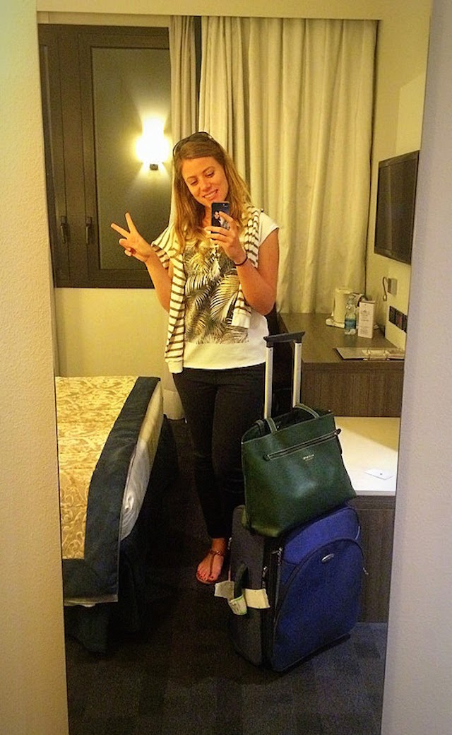 Actress life when shooting abroad