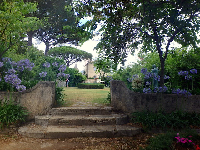 Gardens of Villa Cimbrone in Ravello