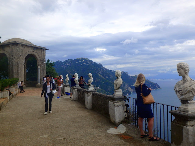 The Terrace of Infinity, Villa Cimbrone, Ravello