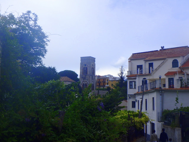 Wandering the little streets in Ravello