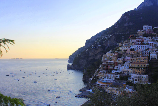 View of Positano from Franco