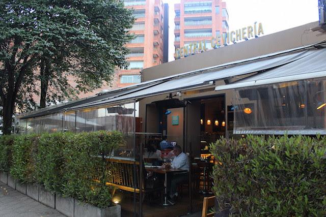 Central Cevicheria restaurant in Bogota