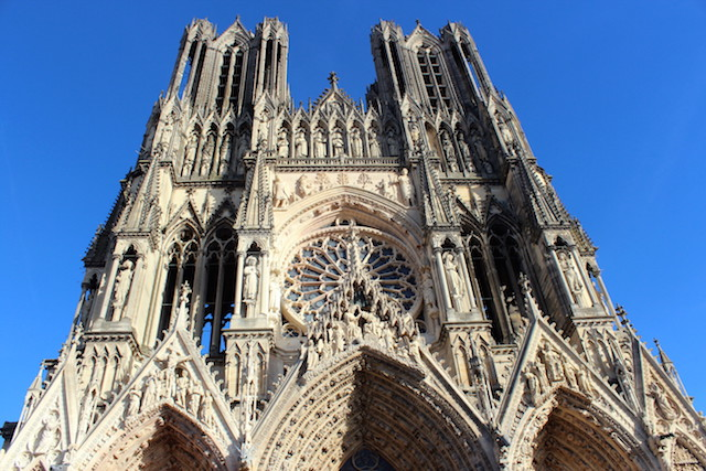 The Cathedral of Reims in France