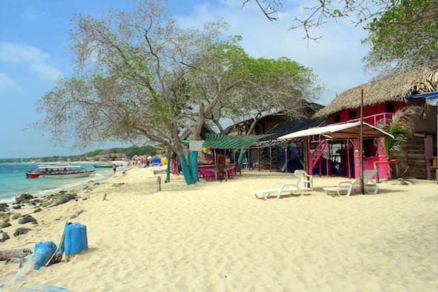 Playa Blanca, Cartagena, Colombia