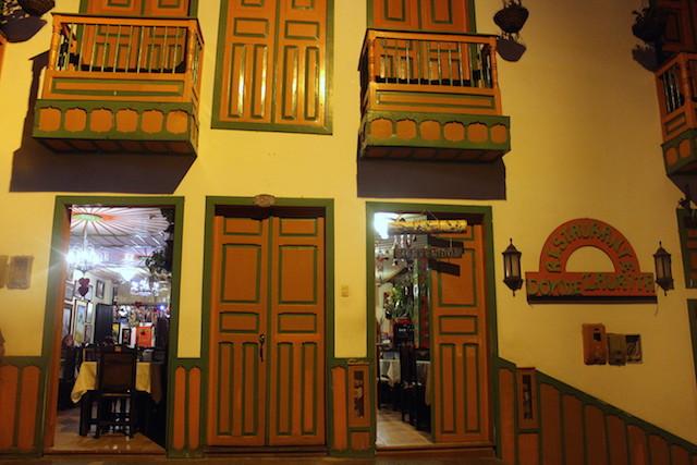 Restaurante Donde Laurita in Salento, Colombia
