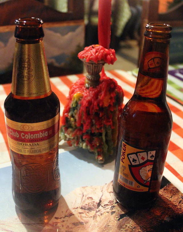 Local beers in Colombia