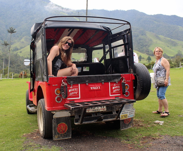 jeep tp go to Cocora Valley in Salento, Colombia