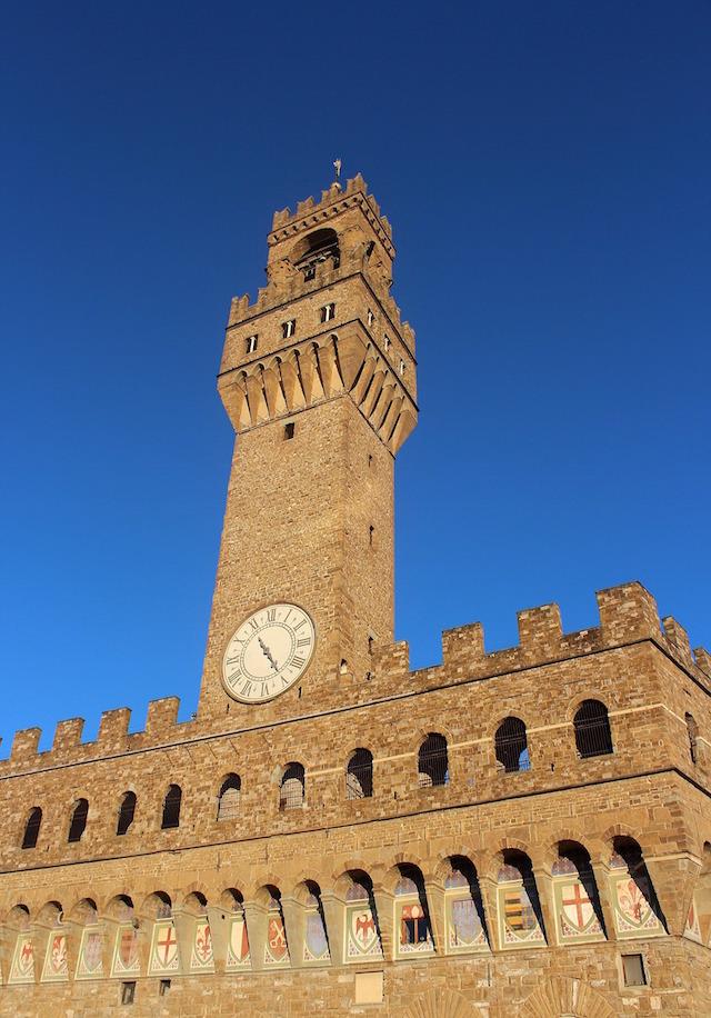 Palazzo Veccio in piazza della Signoria in Florence