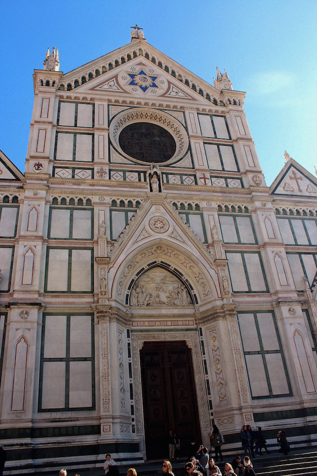 Florence itinerary: Santa Croce Church