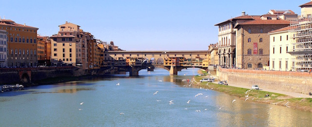 Florence itinerary, the Ponte Vecchio