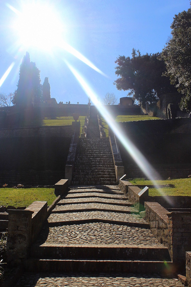 Week-end in Florence, the Bardini gardens
