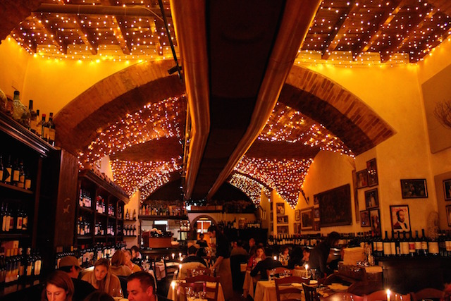 La Giostra, romantic restaurant in Florence