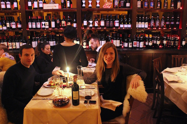 La Giostra, romantic restaurant in Florence