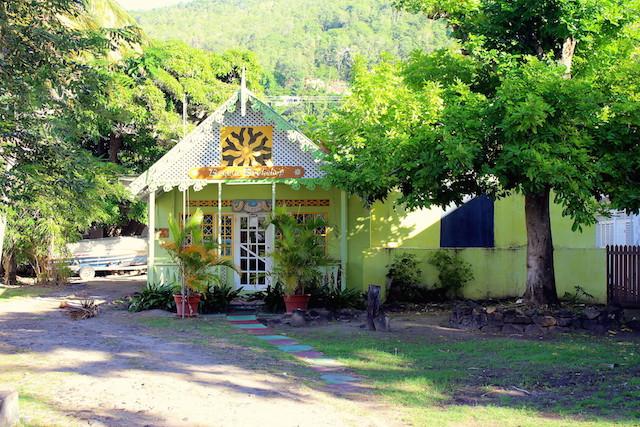 The town of Port Elizabeth in Bequia, Grenadine islands
