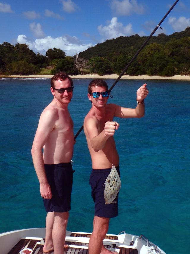 Fishing in Canouan in the Grenadine islands