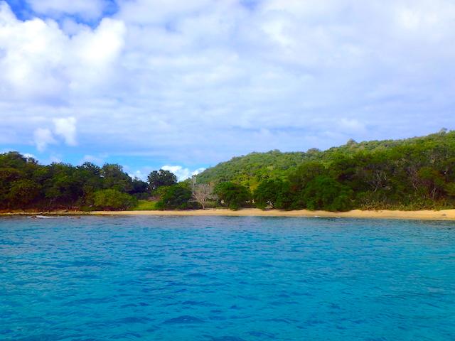 Beautiful beach in Canouan in the Grenadine islands