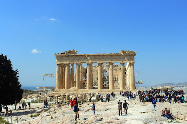 Visiting The Parthenon and the Acropolis in Athens
