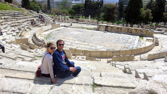 The Theatre of Dionysus in the Acropolis, Athens