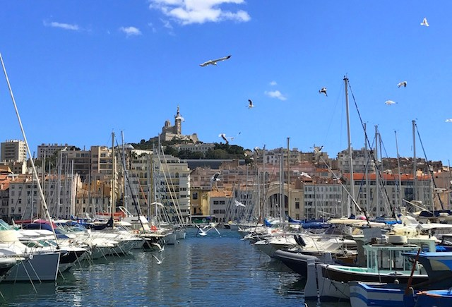 The Old Port in Marseille, France