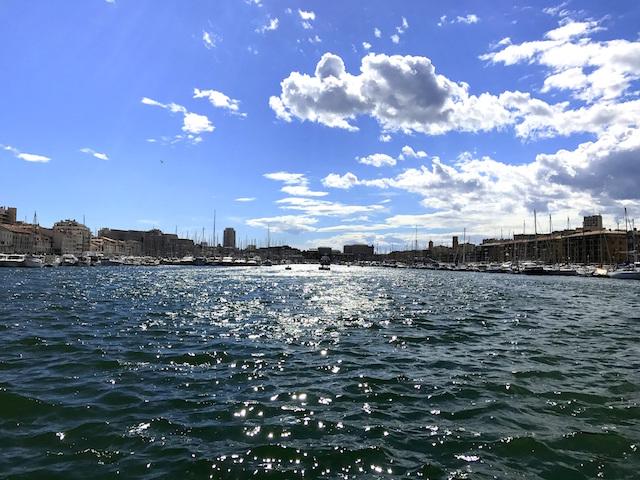 Taking a stroll through the Vieux Port in Marseille