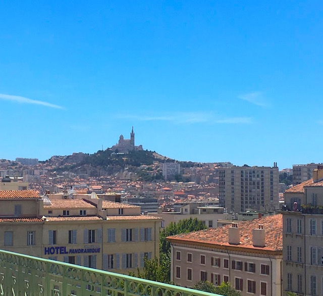 Arriving in Marseille, France
