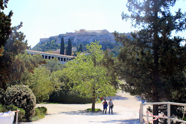 Visiting the Ancient Agora in Athens