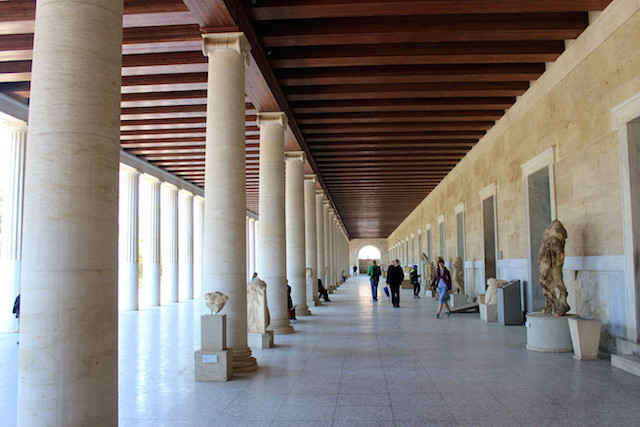 Museum in the Ancient Agora in Athens