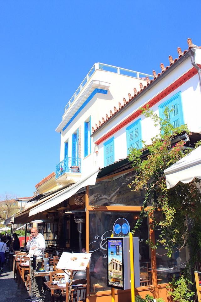 Cute little street in Plaka, Athens