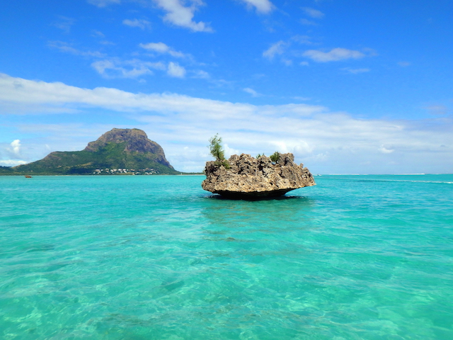 The Crystal Rock in Mauritius