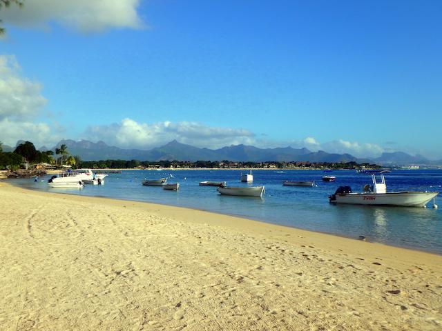 Balaclava beach in Mauritius