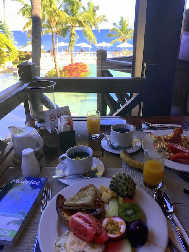 Breakfast at the Maritim Resort & Spa in Mauritius