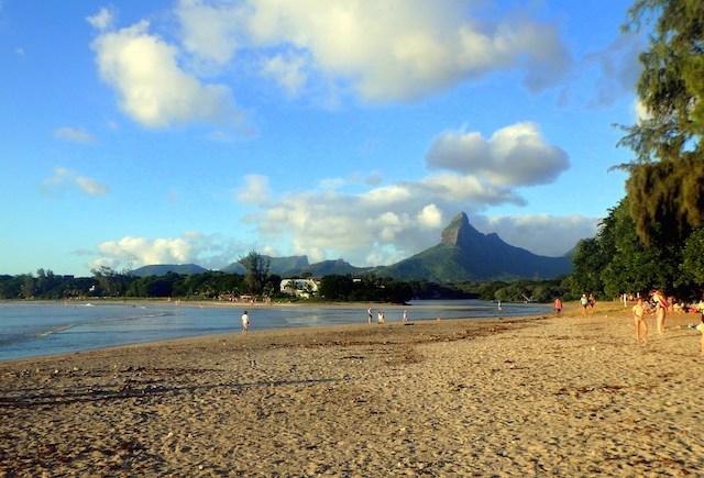 Tamarin Beach in Mauritius