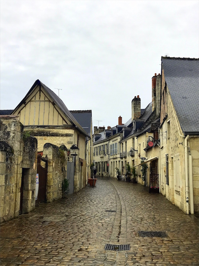 The little town of Azay-le-Rideau in the Loire Valley, France