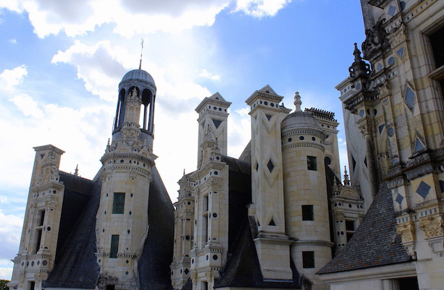 Visiting the Castle of Chambord in the Loire Valley