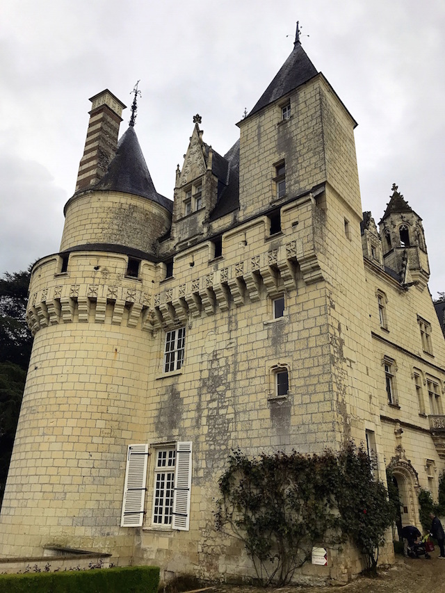 The Sleeping Beauty tower in the castle of Ussé