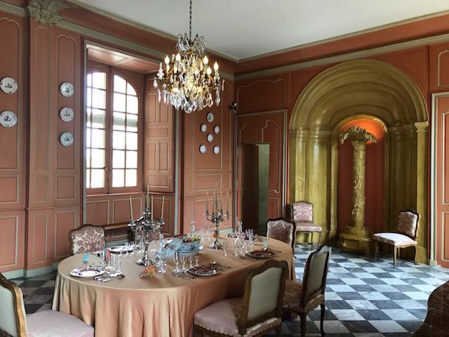 Interior of the castle of Villandry