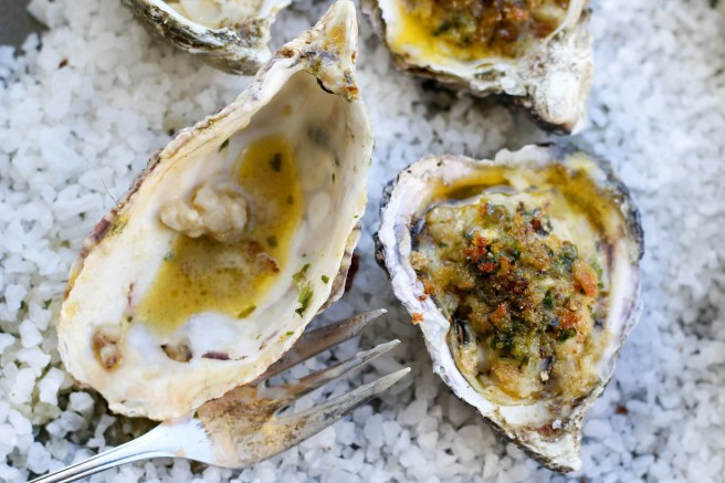 Grilled oysters with spiced butter | The Secret Life of Bee