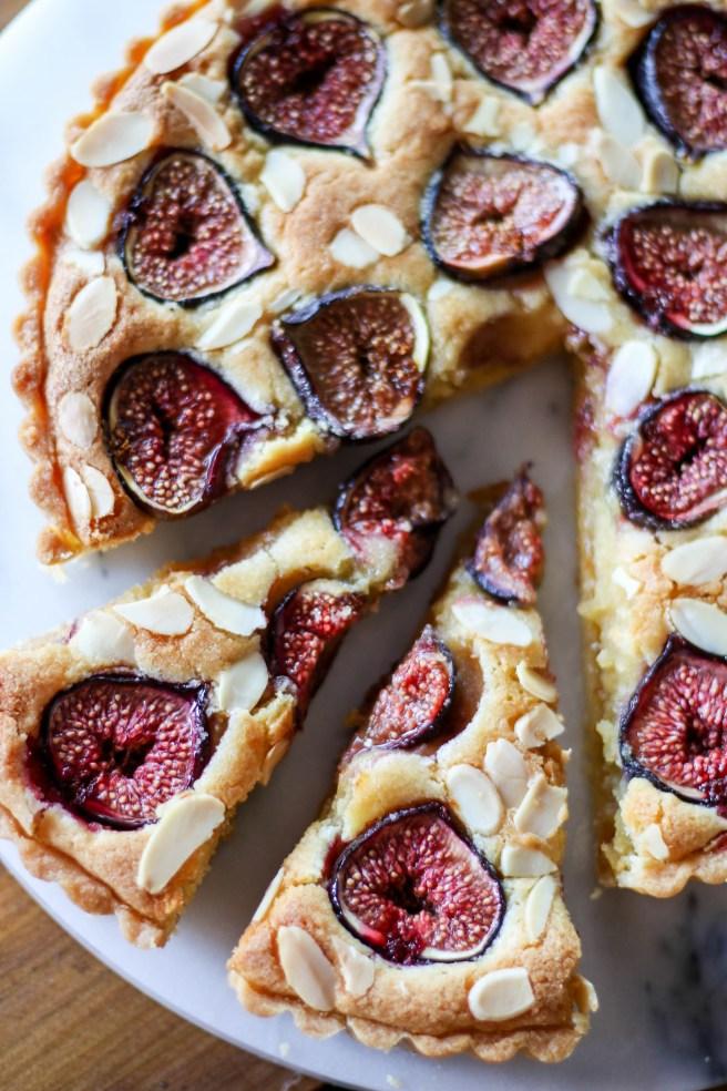fig and frangipane tart | The Secret Life of Bee