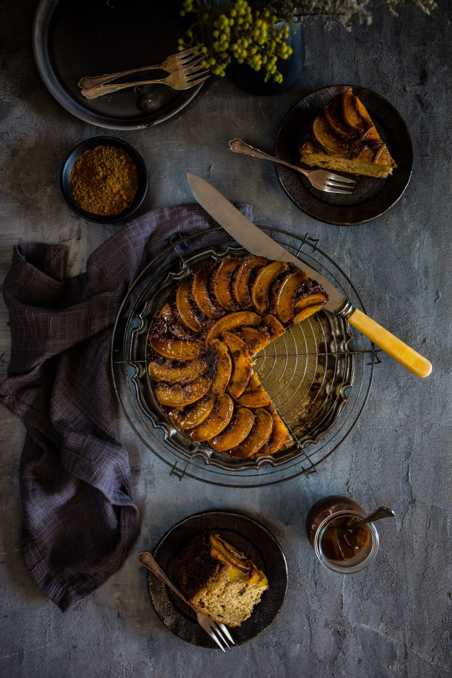 spiced nectarine cake | The Secret Life of Bee