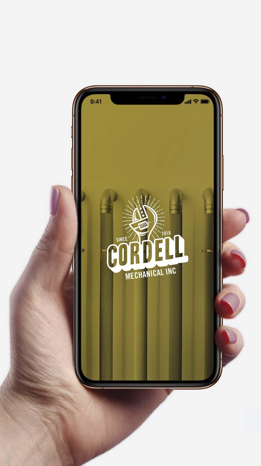 Graphic Design Services Toronto - Cordell Mechanical Inc.