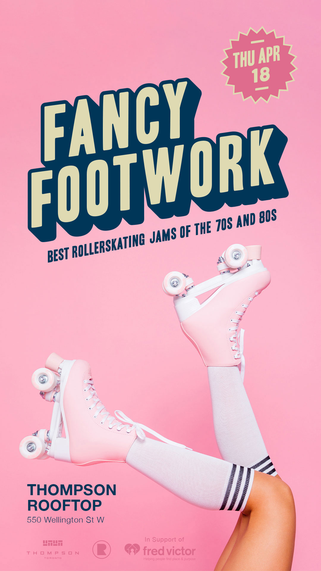 Graphic Design Services Toronto - Fancy Footwork