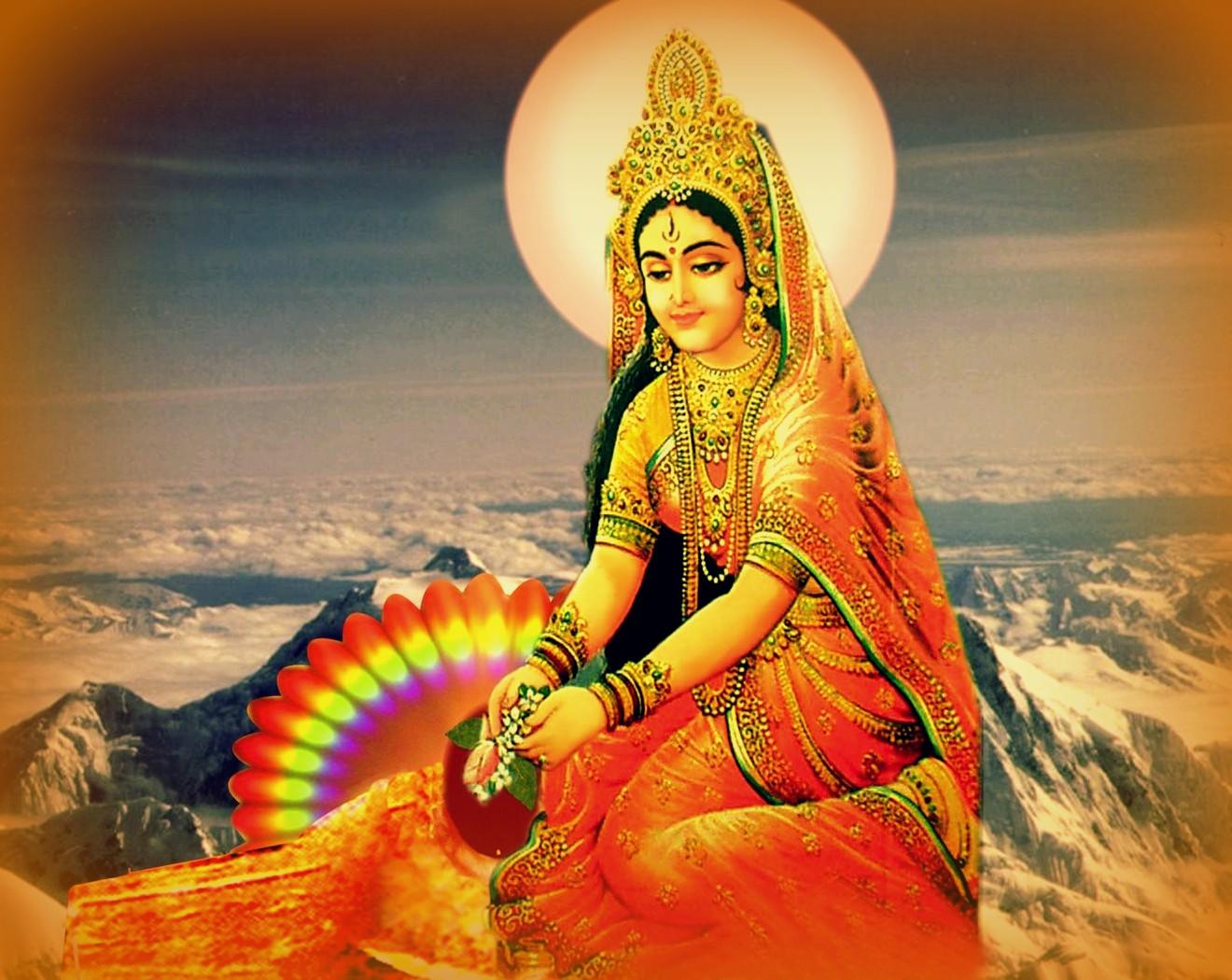 Maa Kali Hd Wallpaper 1080p Goddess Parvati Ganesha The Supreme Lord