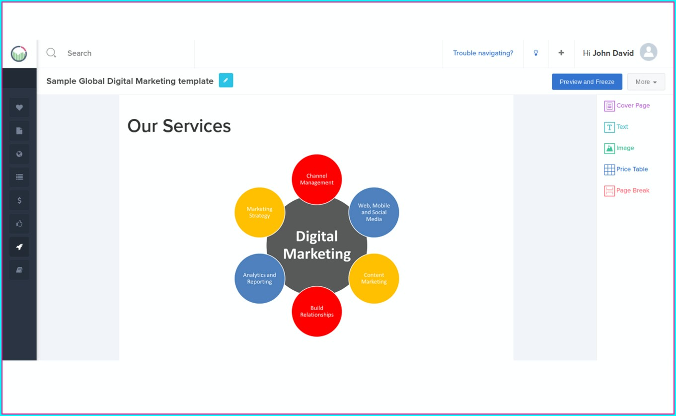 Marketing Roadmap Template Free Templates 2 Resume Examples