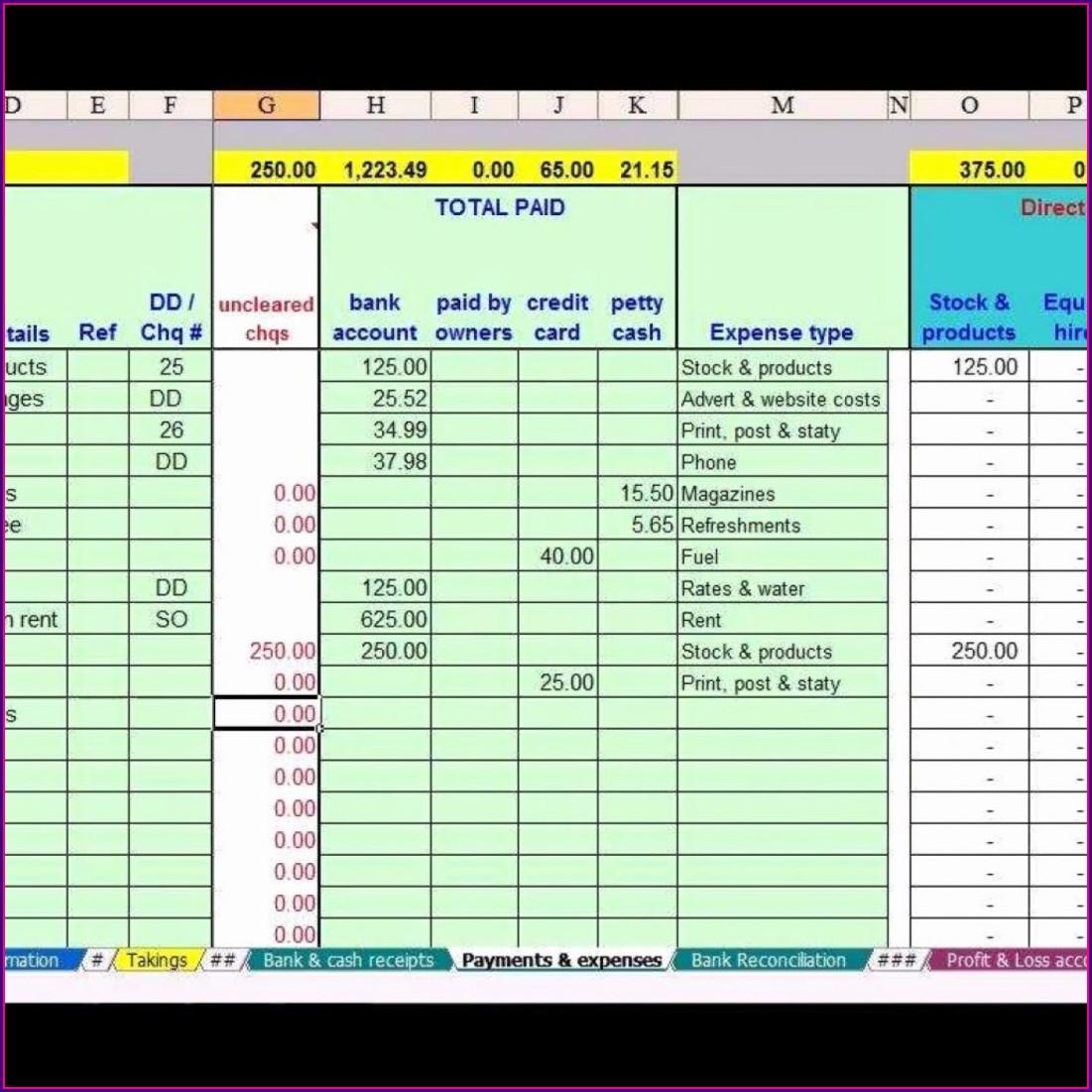Free Accounting Worksheet Excel Worksheet Resume Examples