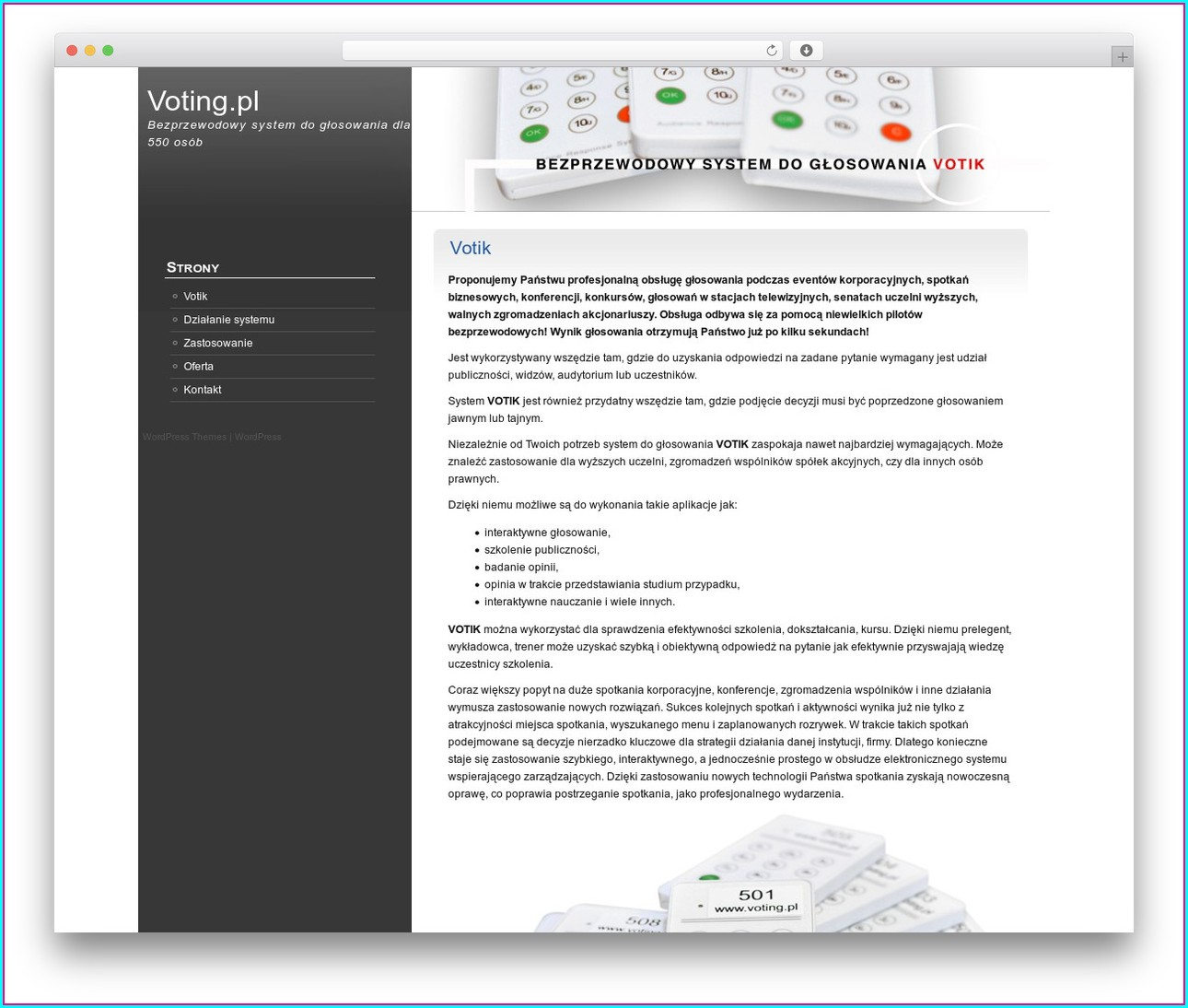 Voting Website Template Templates 2 Resume Examples