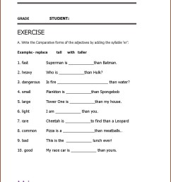 Opposites Worksheets For 2nd Grade Adjectives   Printable Worksheets and  Activities for Teachers [ 1672 x 1285 Pixel ]